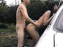 普通のSEXで満足できなくなった変態カップルの青姦祭りが過激すぎて完全にアウトォォォ!!